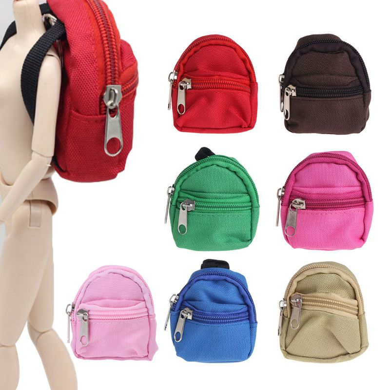 Doll Backpack Bag Accessories Mini Toys  Cute Children Gifts 7 Colors For Barbie Wholesale Dropshipping