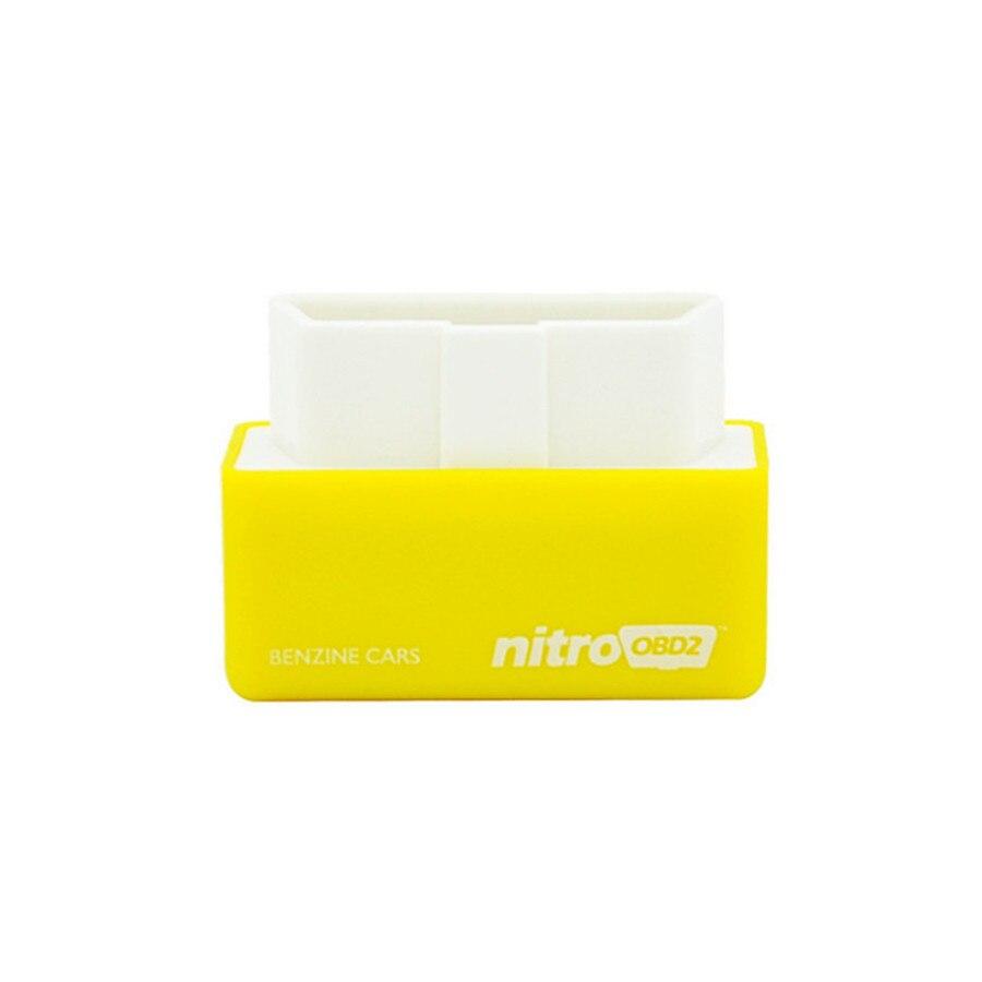 4 Colors Nitro OBD2 EcoOBD2 15% Fuel Save More Power ECU Chip Tuning Box Plug & Driver NitroOBD2 Eco OBD2 For Benzine Diesel Car