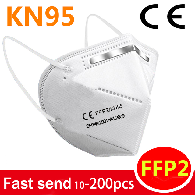 ffp2 mouth mask face mask KN95 maske facial masks protect mask Anti masks Filter ffp2mask KN95mask Anti-flu bacteria Non-woven