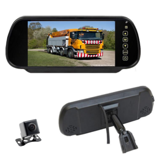 1 Year Guarantee Shenzhen CE RoHS 7 Inch TFT LCD Car Rear View Mirror Monitor With Backup Camera