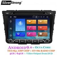 SilverStrong IPS 4G 64GB Android9.0 Car DVD For Hyundai Creta IX25 2014 18 2DIN DVD Radio Navigation option 2G16G/DSP/TPMS/DVR