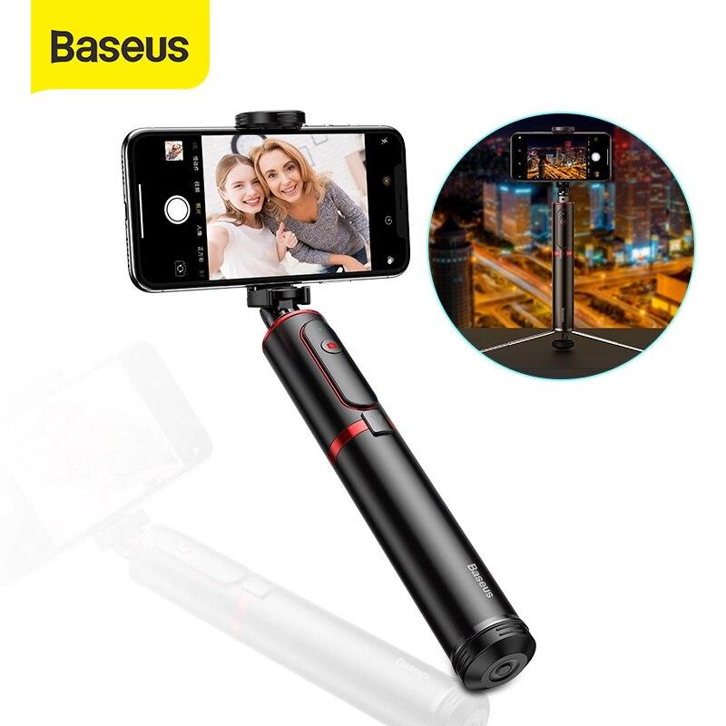 Baseus Wireless Bluetooth Selfie Stick With Extendable Monopod Remote Selfie Sticks Tripod For IPhone Oneplus Huawei Palo Selfie