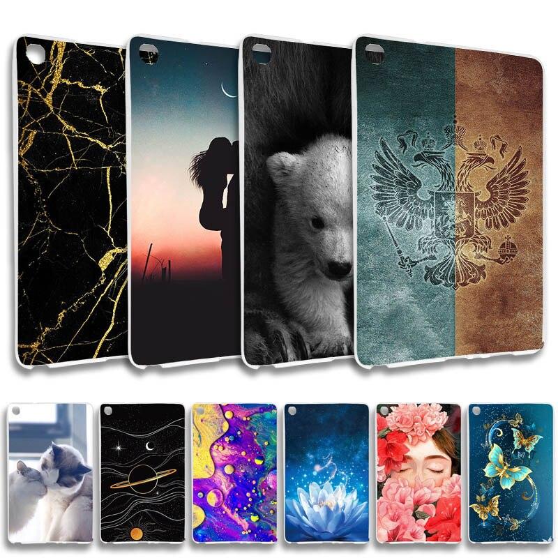 Чехол для Samsung Galaxy Tab A 8,0, 2019, SM-T290, SM-T295, 8,0 дюйма, мягкий, мультяшный, силиконовый, защитный чехол для планшета