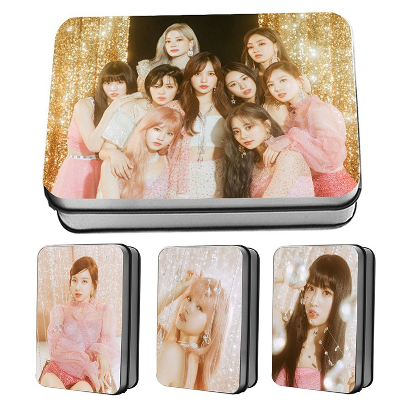 Hot Sale 30 Pcs/Set K-POP TWICE New Album Feel Special The Same Paragraph LOMO Card Postcard Photo Card Around The Concert