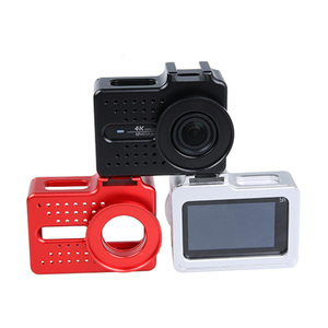 Image 2 - Dla xiaomi yi 4K akcesoria do aparatu aluminiowa obudowa metalowa obudowa ochronna + filtr UV do xiaomi yi II 4k 4K + kamera