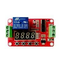1 pces frm01 12 v 1 canal multifunction relé módulo loop atraso/temporizador interruptor/auto bloqueio novo original|Peças e acessórios em 3D| |  -