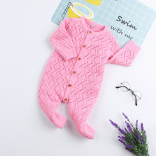 2019 Child knitting Plaid Romper Clothes Baby Kids Boys Girls Infant Jumpsuit Long Sleeve Toddler Newborn Outfits Onesie Costume цена 2017