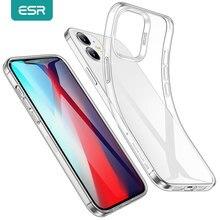 ESR สำหรับ iPhone 12 Pro Max Clear Back Cover สำหรับ iPhone 12 Mini Ultra บางซิลิโคนนุ่มกรอบสำหรับ iPhone 12 Pro Max