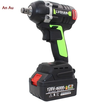 Brushless Cordless Electric Impact Wrench Motor   Cordless electric impact wrench lithium ion battery power tool electric impact wrench 98 128 168 188vf electric brushless li ion battery wrench 10mm chuk with box cordless speed control power