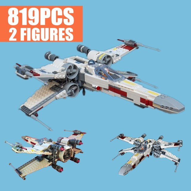 New First Order Poe's X-wing Fighter Star Wars Figures 2