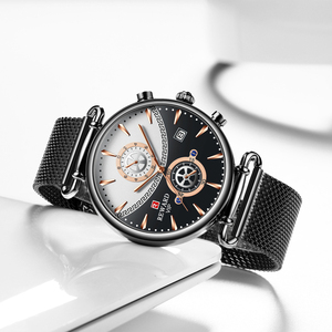 Image 2 - Chronographe récompense en acier inoxydable pour hommes, montre de Sport militaire de luxe, Top marque montre pour hommes