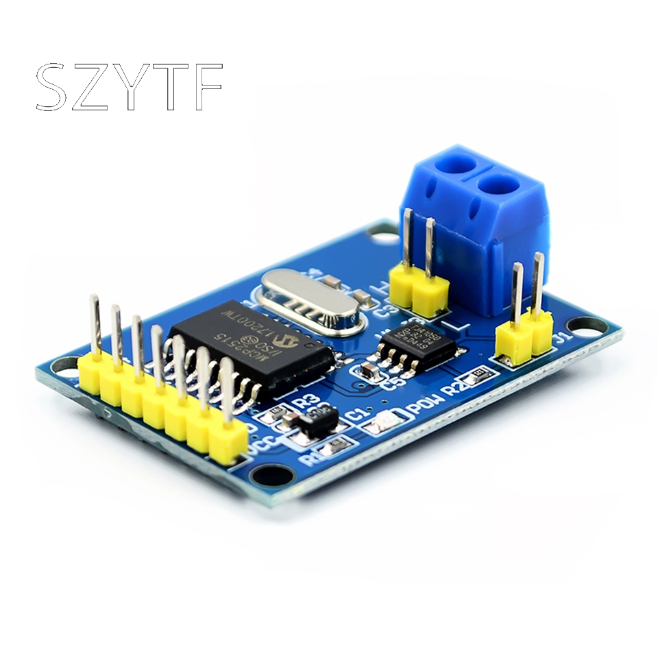 MCP2515 CAN bus module receivers TJA1050 SPI protocol microcontroller routine 51 image