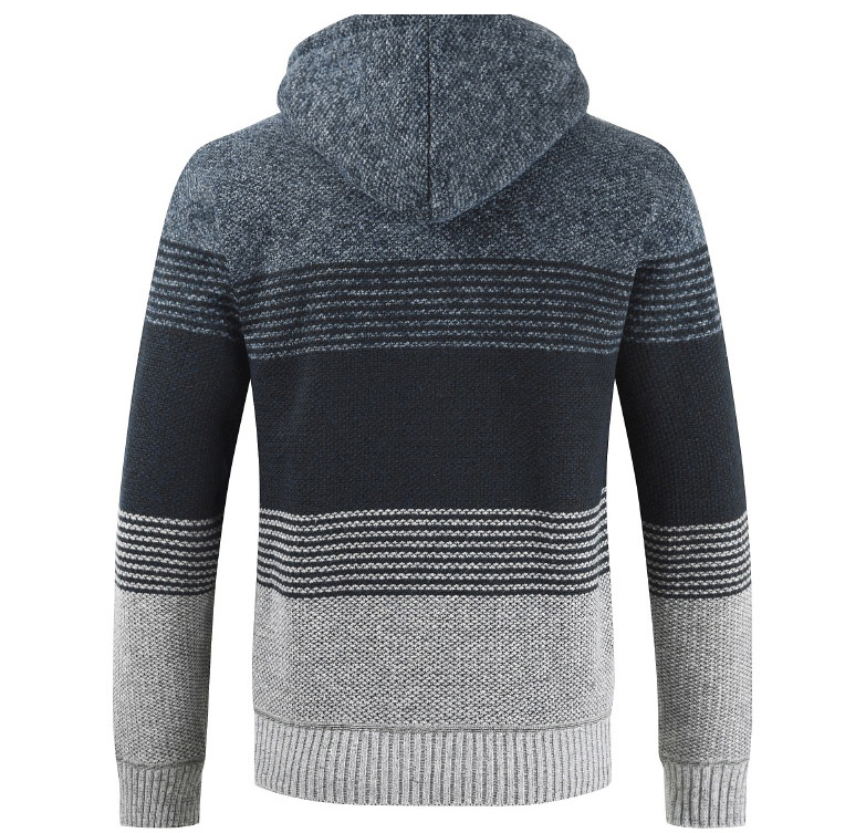 Thick Warm Hooded Cardigan Sweater 20
