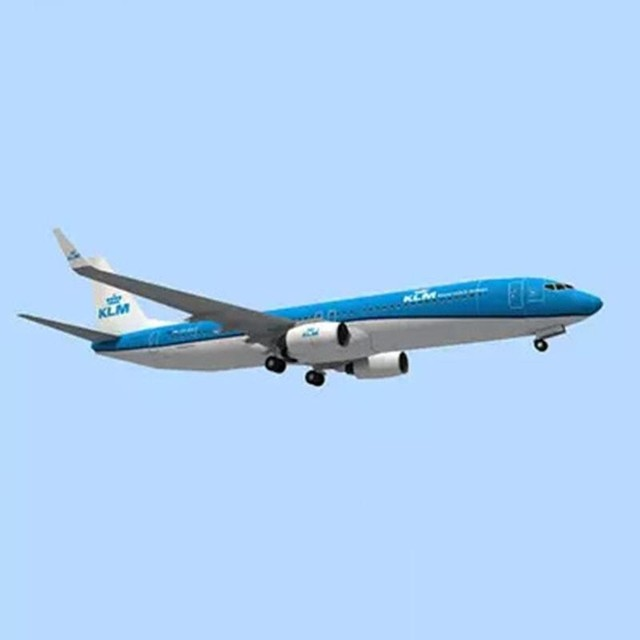 DIY Airplane Paper Model Papercraft Toy 1:100 Boeing Paper Model Aircraft Aircraft Handmade Origami Model 737 Toy Paper 3D P2J7 2