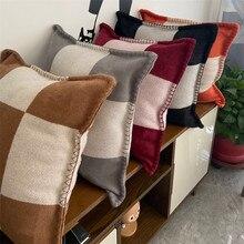 European and American style cushion , sofa, office living room cushion, luxurious H cushion