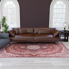 Dywaniki w stylu amerykańskim miękkie z nadrukiem do salonu dywaniki do sypialni w domu i dywan Sofa stolik dywaniki podłogowe tanie tanio NoEnName_Null Amerykański styl Maszyna wykonana Rectangle Hotel Bedroom Dekoracyjne Perski Pranie ręczne Printed Carpets