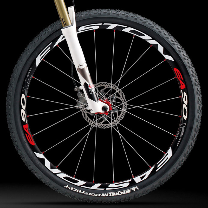 26er 27.5er 29er MTB rim <font><b>wheel</b></font> sticker <font><b>bicycle</b></font> stickers cycle reflective mountain bike <font><b>wheels</b></font> decal for EASTON EA90XC image
