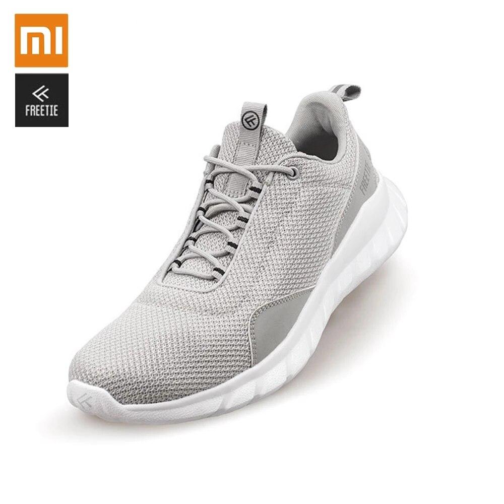 Xiaomi MIJIA FREETIE chaussures de sport léger ventiler élastique tricot chaussures respirant rafraîchissant ville course Sneaker