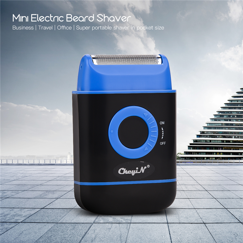 Portable Mini  Electric Shaver Razor for Men Travel Reciprocating Hair Removal Shaving Beard Trimmer Machine Face Care Tool 45 1