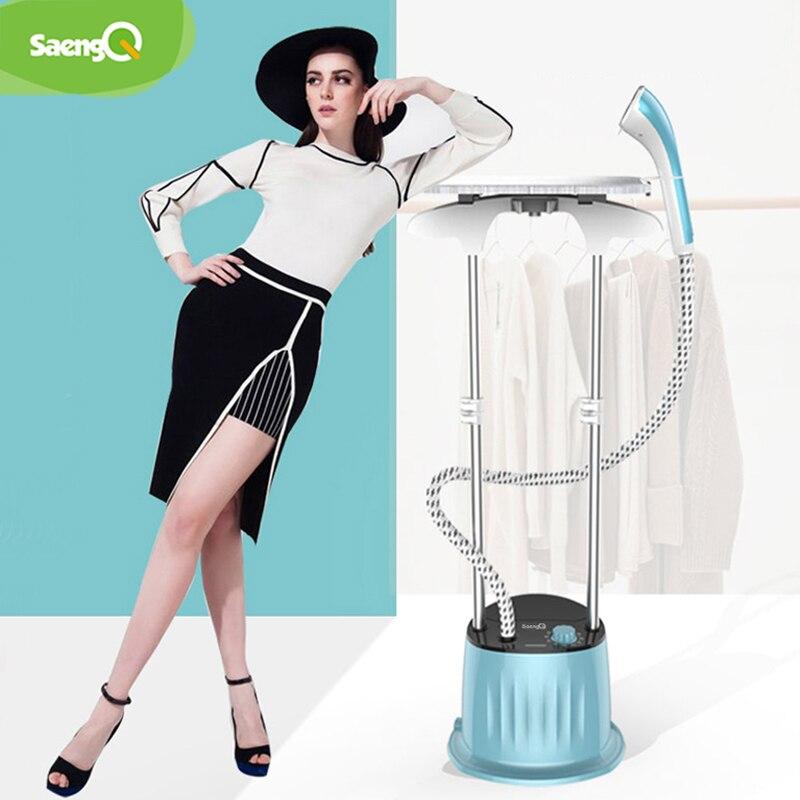 SaengQ New 1800W Household Garment Steamer Handheld Ironing Machine Adjustable Vertical Flat Steam Iron Clothes Steamer