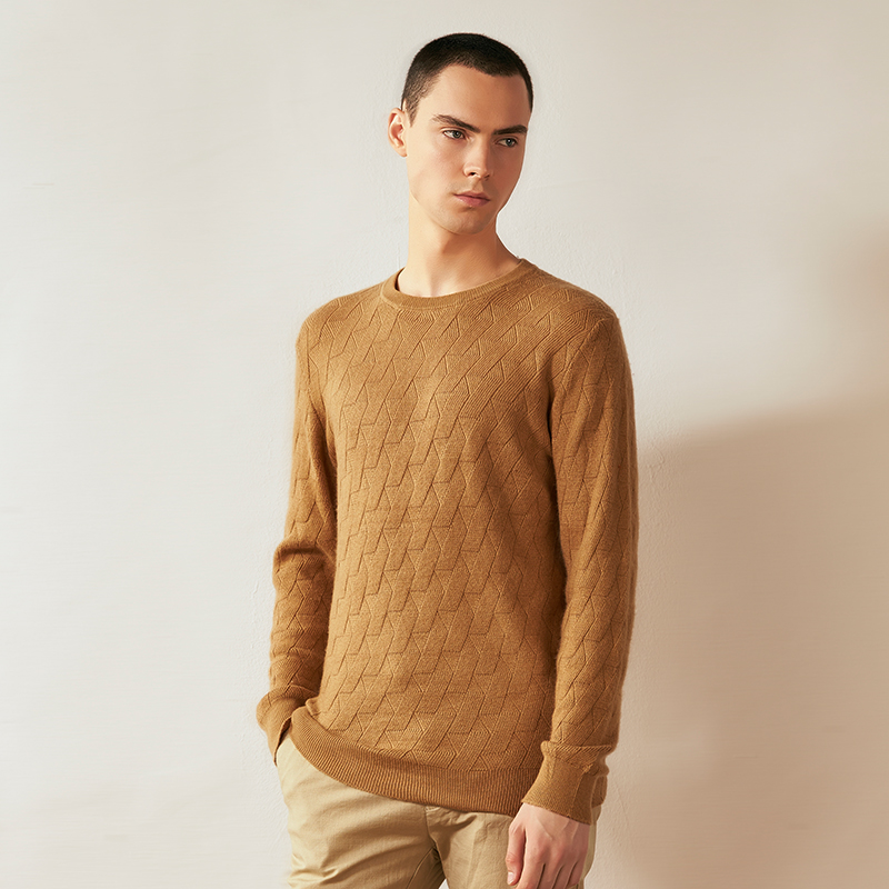 Pullover Men Winter Knitted Rabbit Wool Sweaters Casual Breathable Full Sleeves Male Soft Autumn Mens Wear