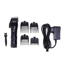 Professional Electric Men Hair Clippers Beard Trimmer Barber Grooming Kit Rechargeable Cordless Haircut Machine(China)