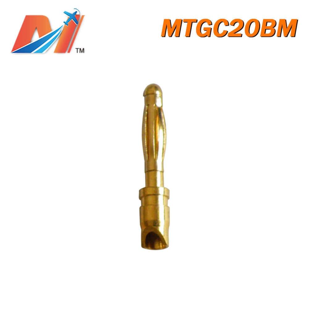Maytech Klaring (1 pc) Koop 2mm gouden connector Schuine Type man