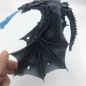 Image 5 - 19cm  Season 8 Viserion Ice Dragon Joint Movable PVC Figure Nights King Knight Model Collective Toys