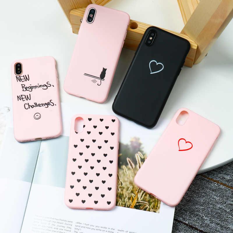 Für Huawei P20 Lite Fall Liebe Herz 3D DIY Silicon Funda Für Huawei Mate 20 10 P10 P20 P30 P8 p9 Lite Pro Plus Nova 3 Fällen