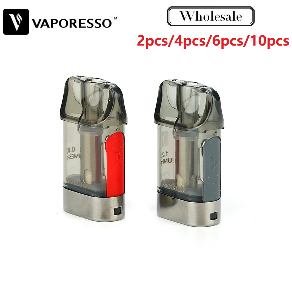 Original Vaporesso XTRA Pod Cartridge 2ml 2pcs/pack With 0.8ohm/1.2ohm Coil Head For Vaporesso XTRA Pod Kit Electronic Cigarette