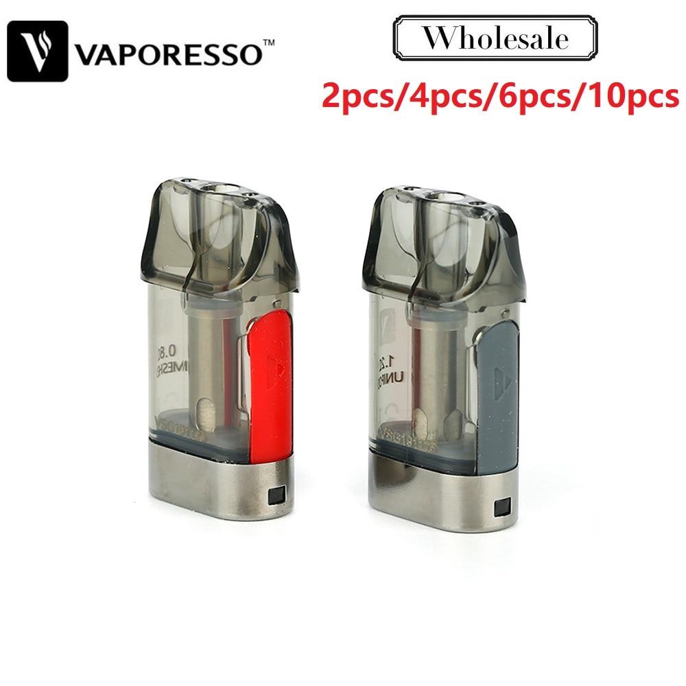 Original Vaporesso XTRA Pod Cartridge 2ml 2pcs/pack With 0.8ohm/1.2ohm Coil Head For Vaporesso XTRA Pod Kit Electronic Cigarette