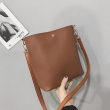2019 New Fashion Shoulder Big Bags Korean Style Crossbody for Women Leather Bag