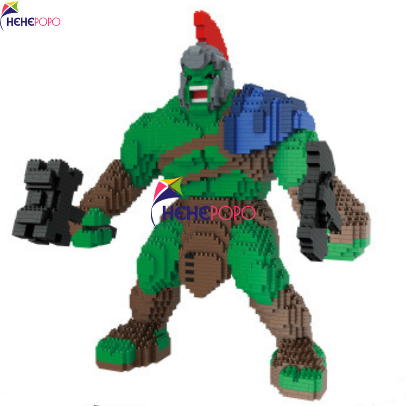 New Coming Super Hero Design Block with Cheap Price DIY Mini Mirco Diamond Building Blocks Bricks Toys Kids Gift 3