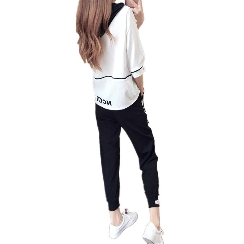 2018 Girl'S 13-14-15-16-17-18-Year-Old GIRL'S Big Kid Junior High School Students Autumn Clothing Clothes