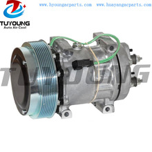 SD 7H15 4250 Car Ac Compressor For Caterpillar Off-Road Volvo Freightliner 324-9711 3249711 270124760