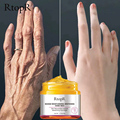 RtopR Mango Reißen Hand Wachs Bleaching Haut Hand Maske Reparatur Peeling Kallus Film Anti-aging-Hand Creme 50g
