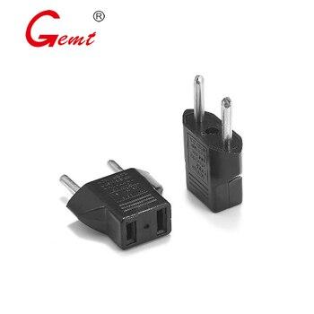 цена на US to EU Plug 2 holes 5A Power Adapter CN to Euro EU Travel Adapter European Type C Plug Converter Electric Power Sockets Outlet