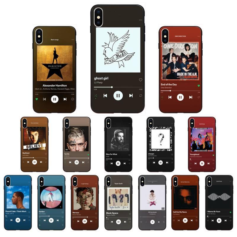 5 SOS lil Peep Album song Phone Case For iPhone 11 8 7 6 6S Plus 7 8 plus X XS MAX 5 5S XR 12 11 Pro max se 2020