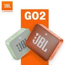 Jbl go 2 sem fio bluetooth alto-falante mini ipx7 à prova dwaterproof água ao ar livre som bateria recarregável com microfone