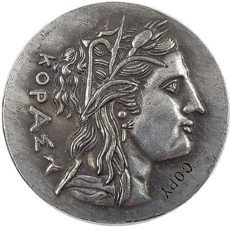 Тип № 72 древняя греческая копия монеты