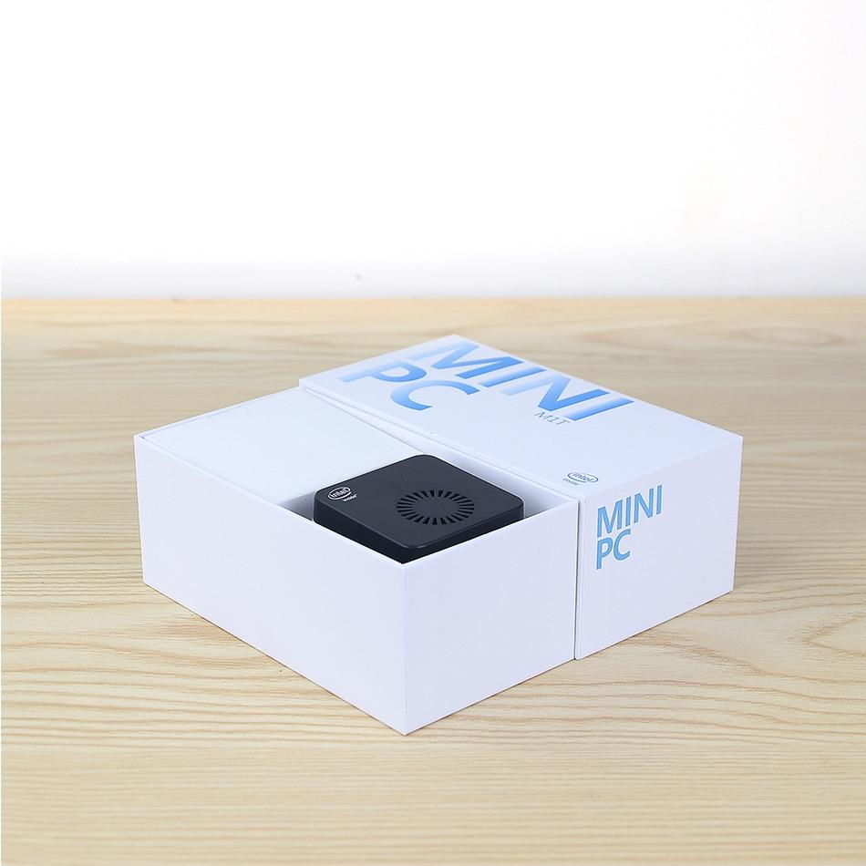 XCY Mini PC Intel Celeron N4100 Quad-Core 8GB LPDDR4 128GB SSD 2.4G/5.0G WiFi Bluetooth 4.2 HDMI2.0 60Hz USB-C 4K Windows 10-5