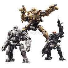 RIHIO MM003, transformable v link, serie Mecha, máquina cortadora de insectos, juguetes Robot mech ensamblados