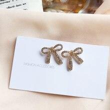 S925 игла Ювелирные серьги Сладкий корейский дизайн металлический