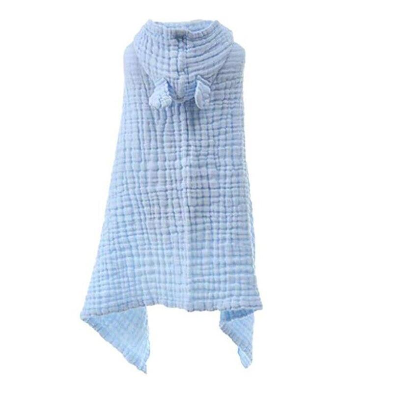 crianças com capuz toalha de banho envoltório
