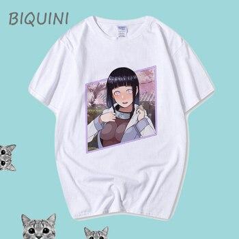 Naruto Mode Japanse Anime T-shirt Casual 100% Cotton Men T-shirts, Mens Summer T-shirts Harajuku Shirt  Funny T Shirts