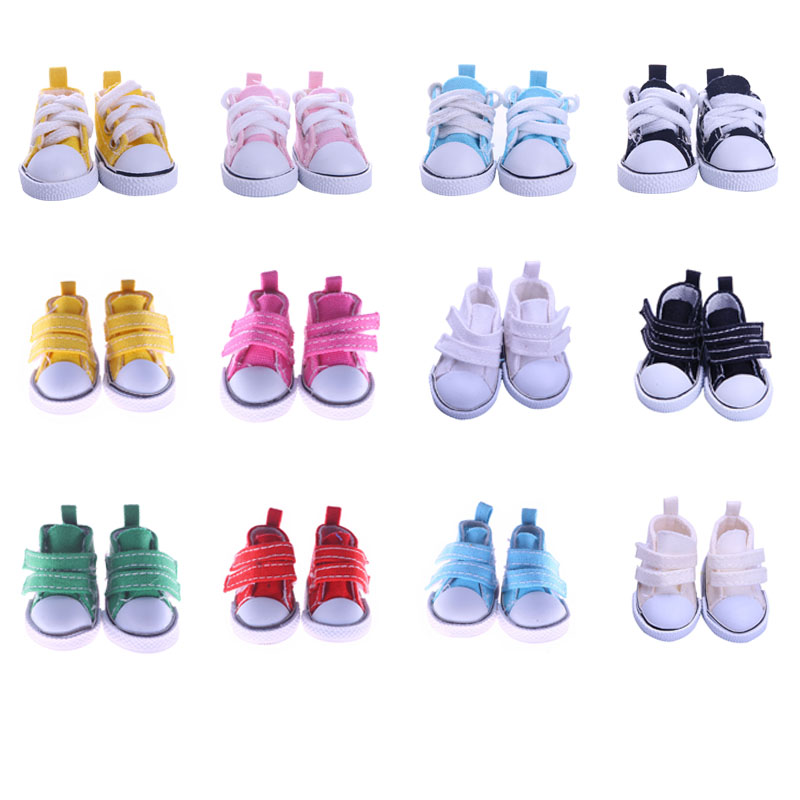 14 styles Shoelaces & Velcro Sneakers Casual Shoes For BJD 1/6 Blyth 30Cm Doll Accessories Christmas Birthday Gift image