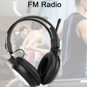Image 2 - Retekess TR101 ווקמן אוזניות רדיו FM סטריאו אוזניות רדיו מקלט דיגיטלי FM שמיעה מגן Earmuff תמיכה AUX קלט