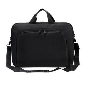 Image 2 - ALLOYSEED Бизнес сумка для ноутбука Портативный нейлон компьютер Сумки молния плечо простой ноутбук сумка Портфели черный сумка для ноутбука