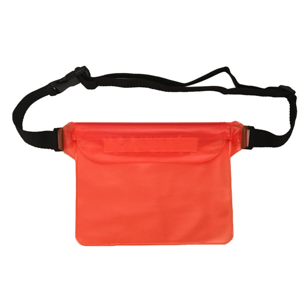 Outdoor Swimming Mobile Phone Waterproof Waist Bag Transparent Hot Spring Beach Pvc Collection Bag Waterproof Bag