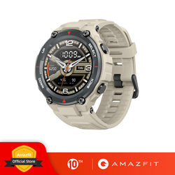 Baru 2020 CES Amazfit T-Rex T Rex Smartwatch Layar AMOLED Smart Watch GPS/GLONASS 20 Hari Baterai untuk Xiaomi Ios Android